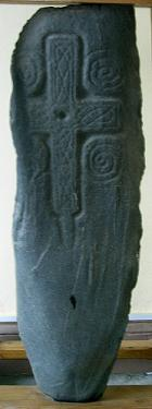 8th/9th century Pictish Stone in the Vestibule