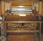 The three manual pipe Harrison & Harrison organ.